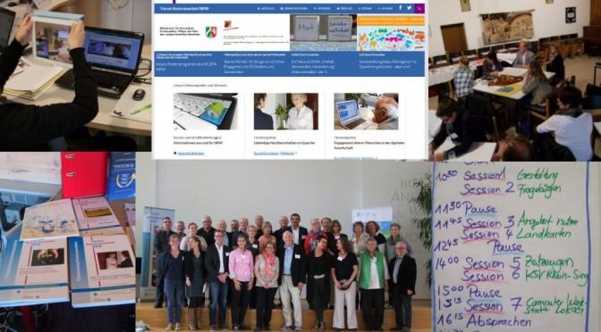 Collage Forum Seniorenarbeit 2015