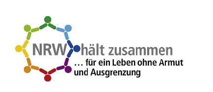 Logo NRW hält zusammen