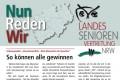 """Schwerpunkt: """"Verantwortlich – Alte Menschen im Quartier"""""""