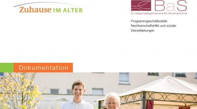 Dokumentation Nachbarschaftshilfe und soziale Dienstleistungen