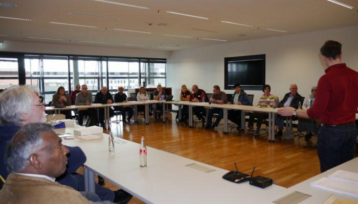 Rückblick: Treffen der stadtweiten Arbeitsgruppen QuartiersNETZ 2016