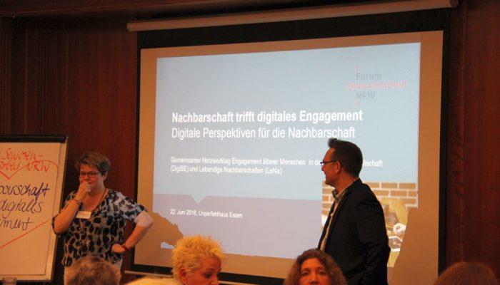 """Rückblick auf das Netzwerktreffen """"Nachbarschaft trifft digitales Engagement"""""""