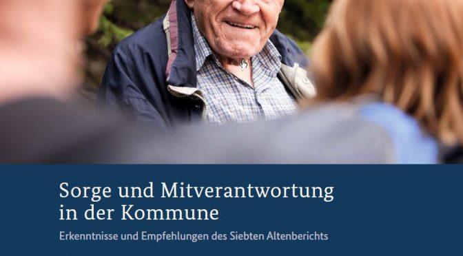 Cover des siebten Altenbericht 2016