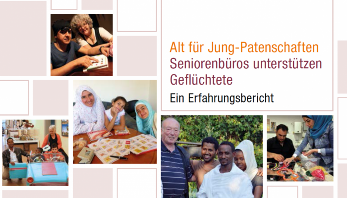 "Broschüre zum BaS-Projekt ""Alt für Jung Patenschaften"""