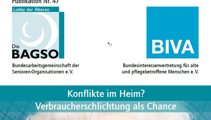 """Neue Broschüre """"Konflikte im Heim? – Verbraucherschlichtung als Chance"""" erschienen"""