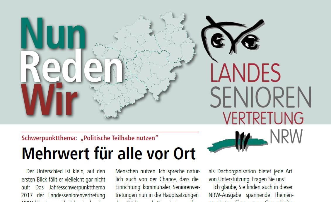Cover Nun Reden Wir Ausgabe 99